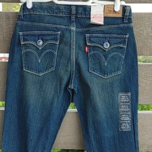 Levi's Strauss Teen Girl youth jeans size 16 blue